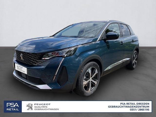 Peugeot 3008 PureTech 180 S&S GPF EAT8 Allure/ Glasdach/SHZ/ ACC/USB, Jahr 2021, Benzin