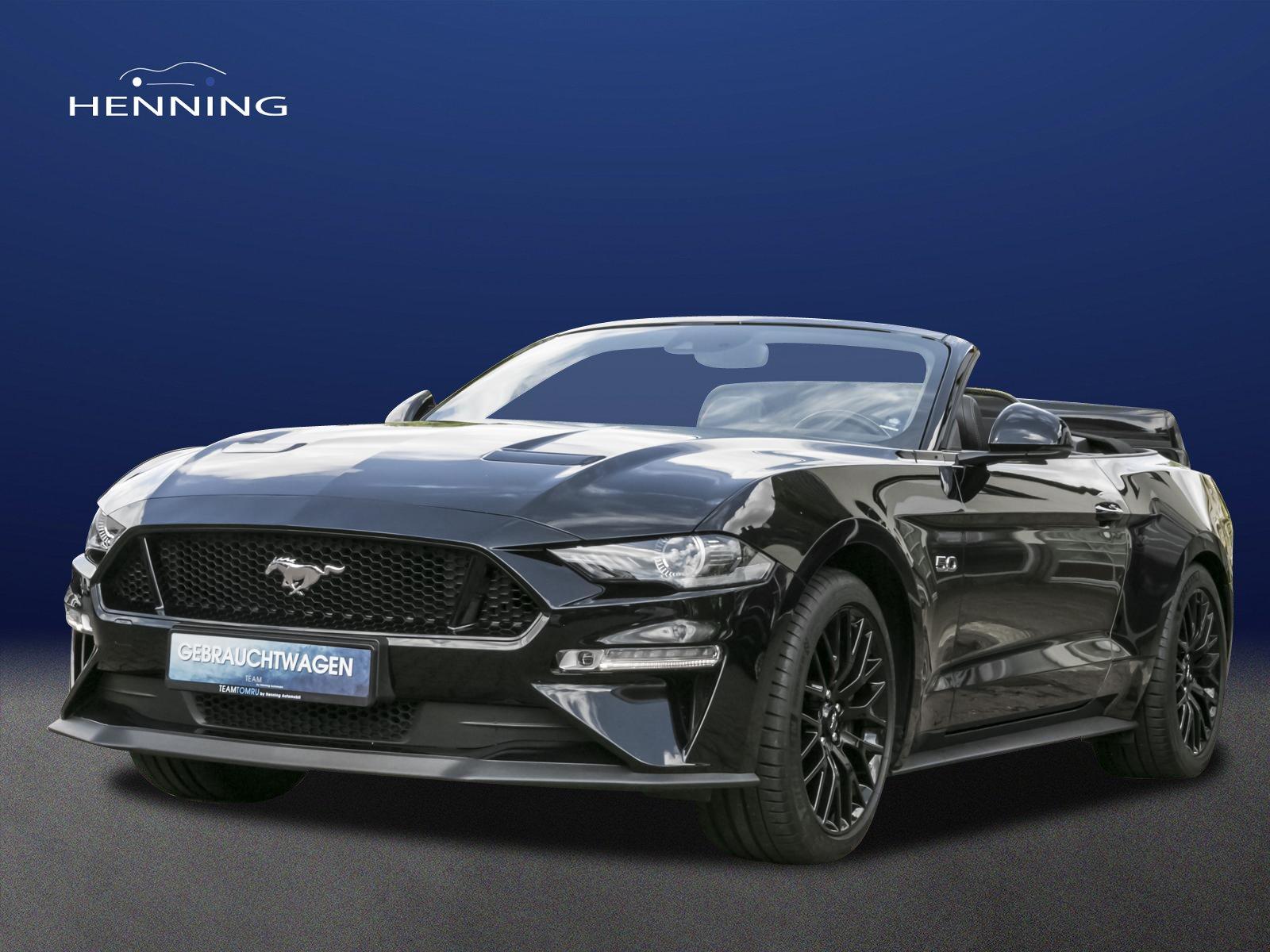 Ford Mustang 5.0 V8*DEUTSCHES FAHRZEUG*UNFALLFREI*1HD, Jahr 2019, Benzin