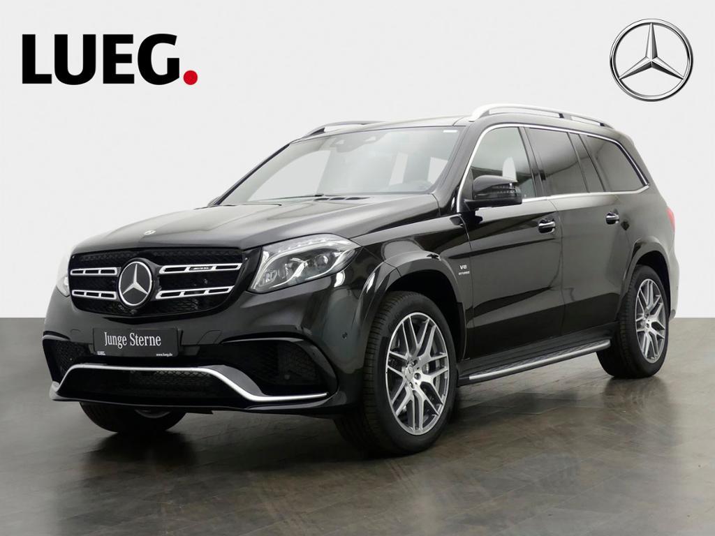 Mercedes-Benz GLS 63 AMG 4M COM+Pano+Airm+21''+AHK+Sitzkl+360°, Jahr 2019, Benzin