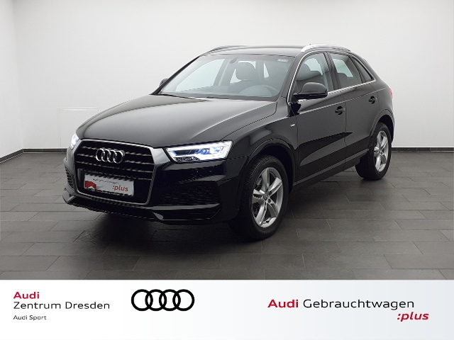 Audi Q3 1.4 TFSI S line LED SW, Jahr 2017, Benzin