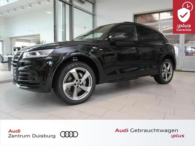 Audi Q5 45 quattro S-tronic 3xS-line Matrix ACC B&O, Jahr 2019, Benzin