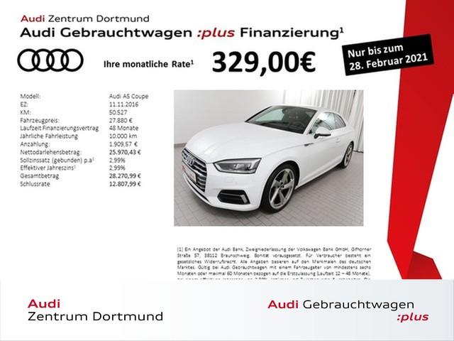Audi A5 Coupé 2.0TFSI sport qu. Navi/Matrix/DAB/APS+, Jahr 2016, Benzin