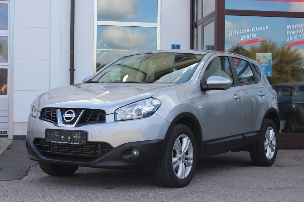 Nissan Qashqai 1.6 96kW Acenta 5-türig*Metallic*ALU ..., Jahr 2012, diesel