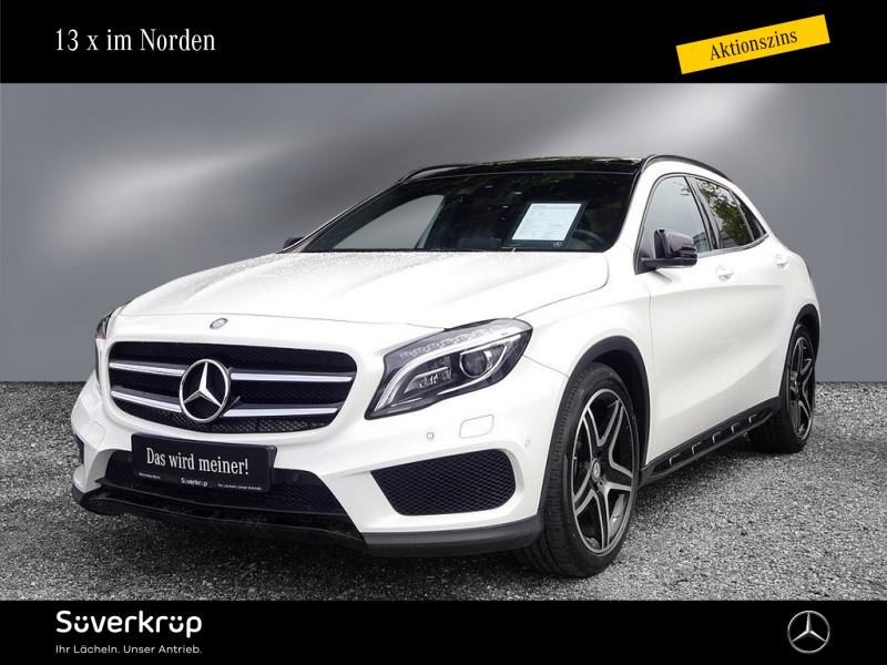 Mercedes-Benz GLA 220d AMG Line Pano.-Dach/Night/LED/Kamera, Jahr 2017, Diesel