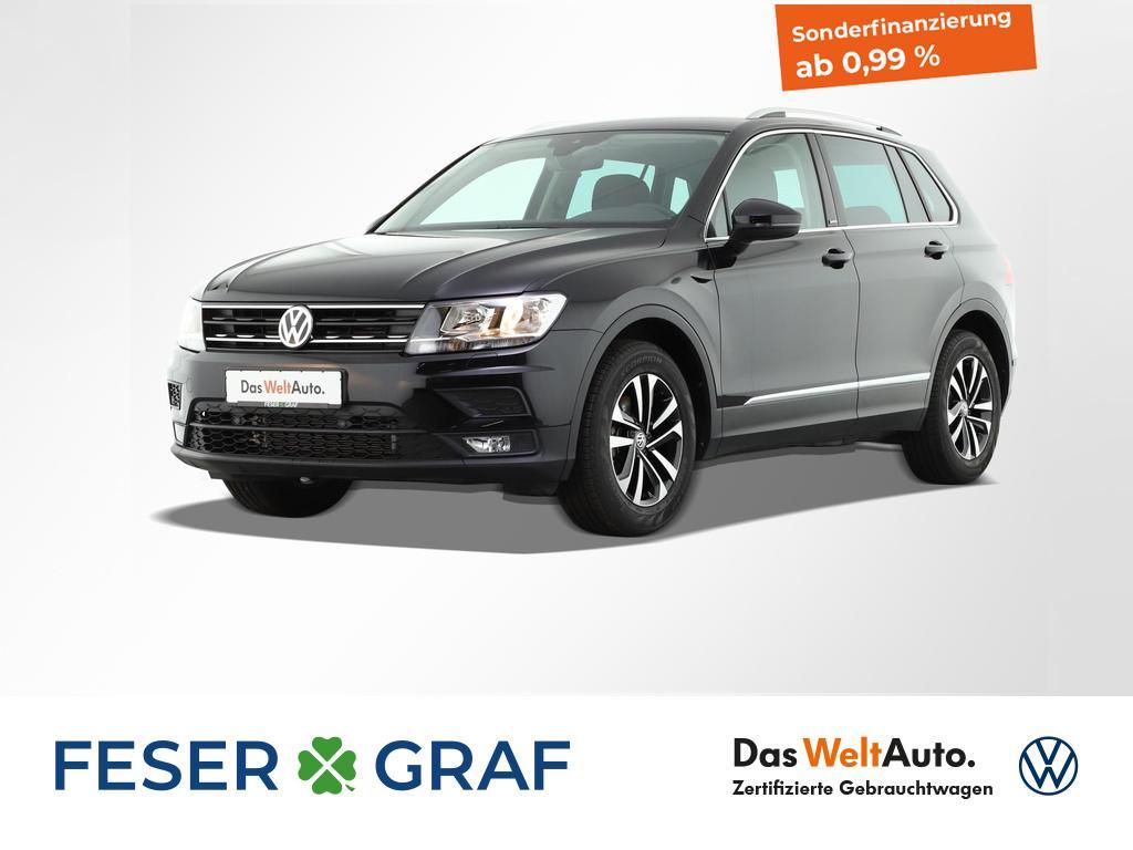Volkswagen Tiguan 2.0 TDI Comfortline AHK UNITED-Paket, Jahr 2020, Diesel