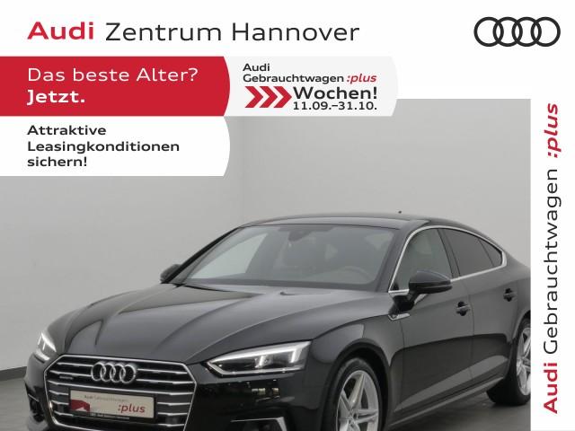 Audi A5 Sportback sport 40 TDI qu. S-line+Standh.+virtual+ACC+LED, Jahr 2019, Diesel