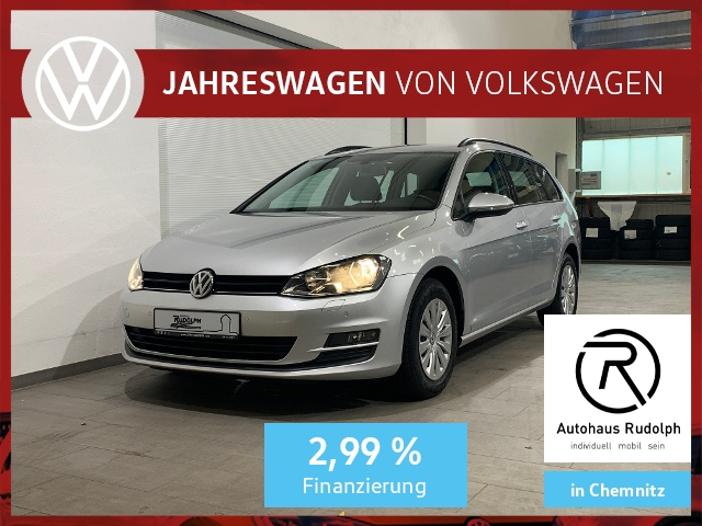 Volkswagen Golf VII Variant 1.6 TDI Trendline / Navi CD AHK, Jahr 2016, Diesel