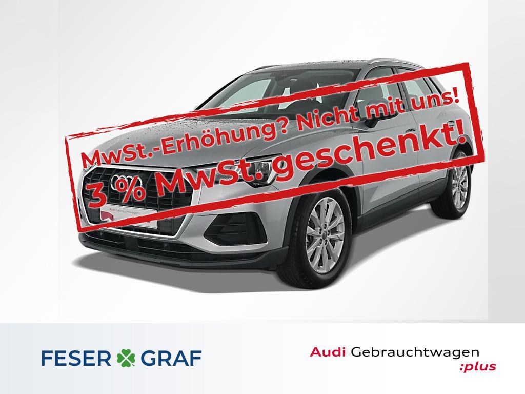 Audi Q3 35 TFSI DAB/AHK/SHZ/PDC/18 Zoll, Jahr 2019, Benzin