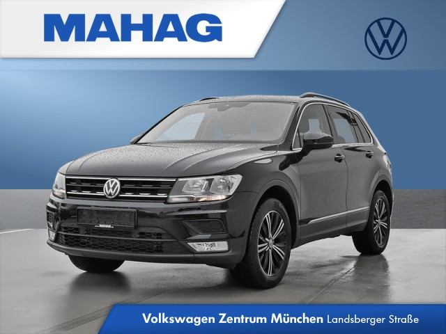 Volkswagen Tiguan Comfortline 2.0 TDI AHK Navi ACC PDC Comfortline, Jahr 2016, Diesel