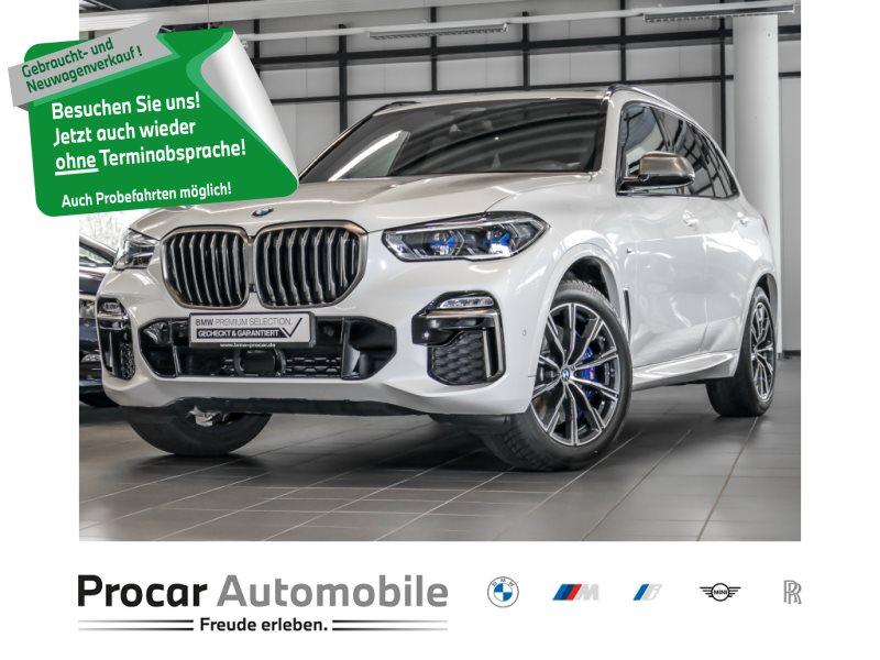BMW X5 M50d Gestiksteuerung Head-Up HiFi DAB WLAN, Jahr 2020, Diesel