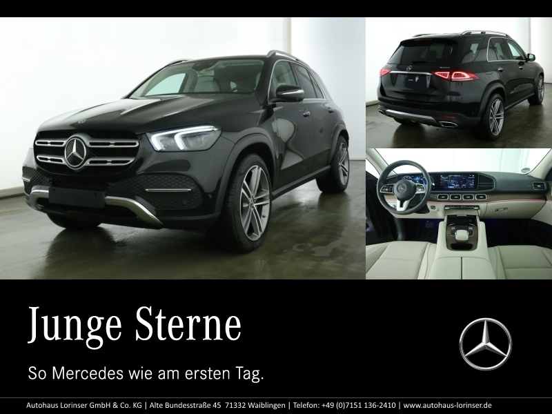 Mercedes-Benz GLE 300 d 4M AHK/MULTIBEAM/360/TOTWINKEL/21''/SH, Jahr 2018, Diesel
