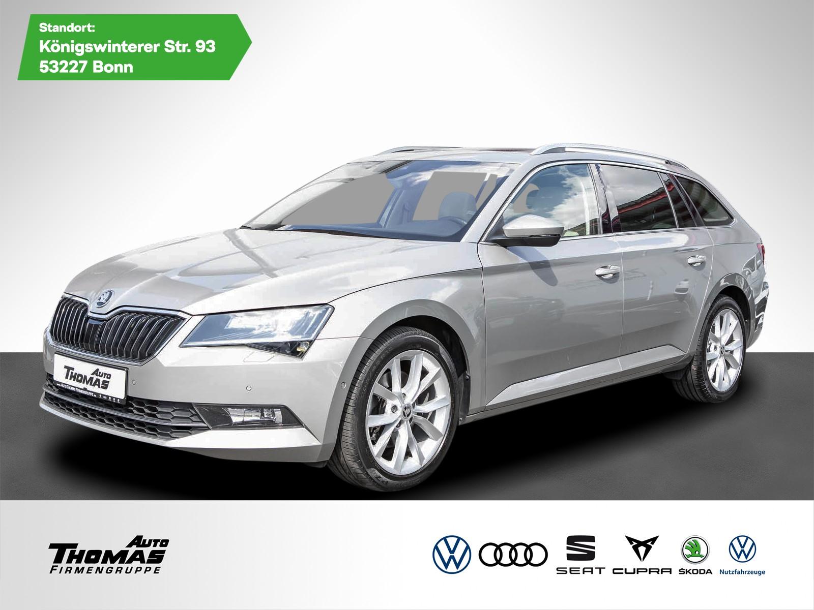 Skoda Superb III Combi Style 2.0 TSI DSG*PANO*AHK*NAVI, Jahr 2017, Benzin