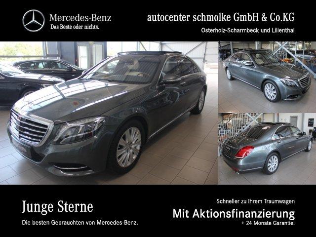 Mercedes-Benz S 400 4-M LANG*MEMORY + ENTERTAINMENT FOND*NP151, Jahr 2016, petrol