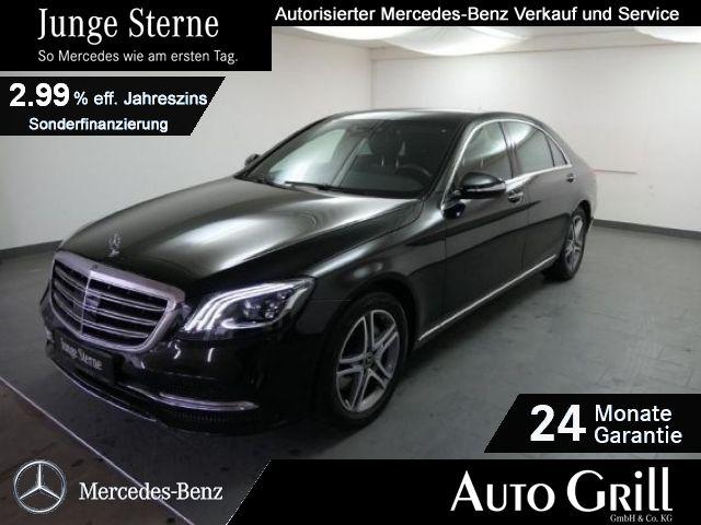 Mercedes-Benz S 350 d 4M lang Multibeam RüKam StdHzg Distronic, Jahr 2017, Diesel