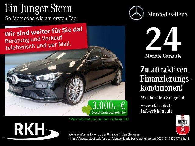 Mercedes-Benz CLA 180 Shooting Brake Progr./Navi/Klima/LED, Jahr 2020, Benzin