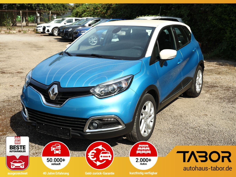 Renault Captur 0.9 TCe 90 Luxe SHZ Navigation Klimaaut., Jahr 2014, Benzin