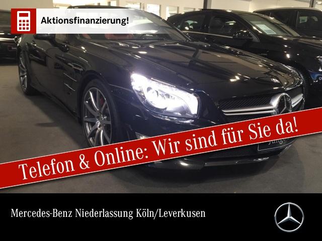 Mercedes-Benz SL 63 AMG Carbon Driversp Perf-Pack TV Harman K., Jahr 2012, Benzin