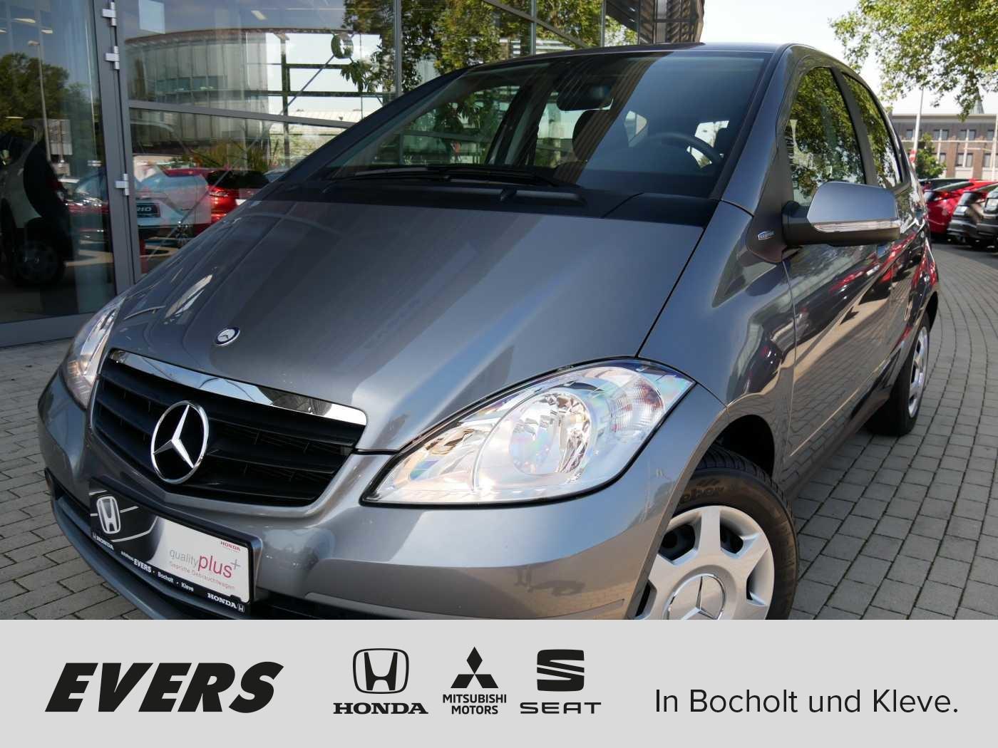 Mercedes-Benz A 160 NAVI+SHZ+REGENSENSOR+GARANTIE, Jahr 2012, petrol