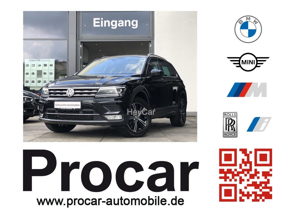 Volkswagen Tiguan 2.0 TDI SCR DSG BMT 4MOTION Highline DSG, Jahr 2016, Diesel