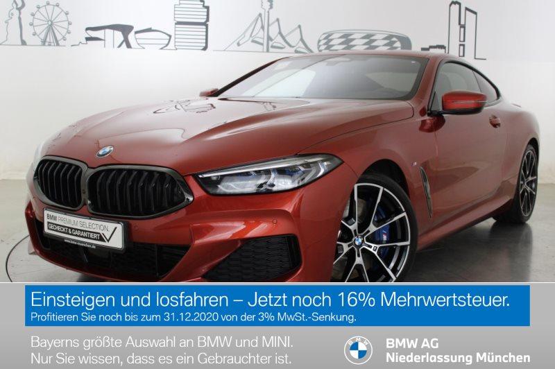 BMW 840d xDrive Coupé Sportpaket M Sportbr. HK HiFi EURO 6, Jahr 2019, Diesel