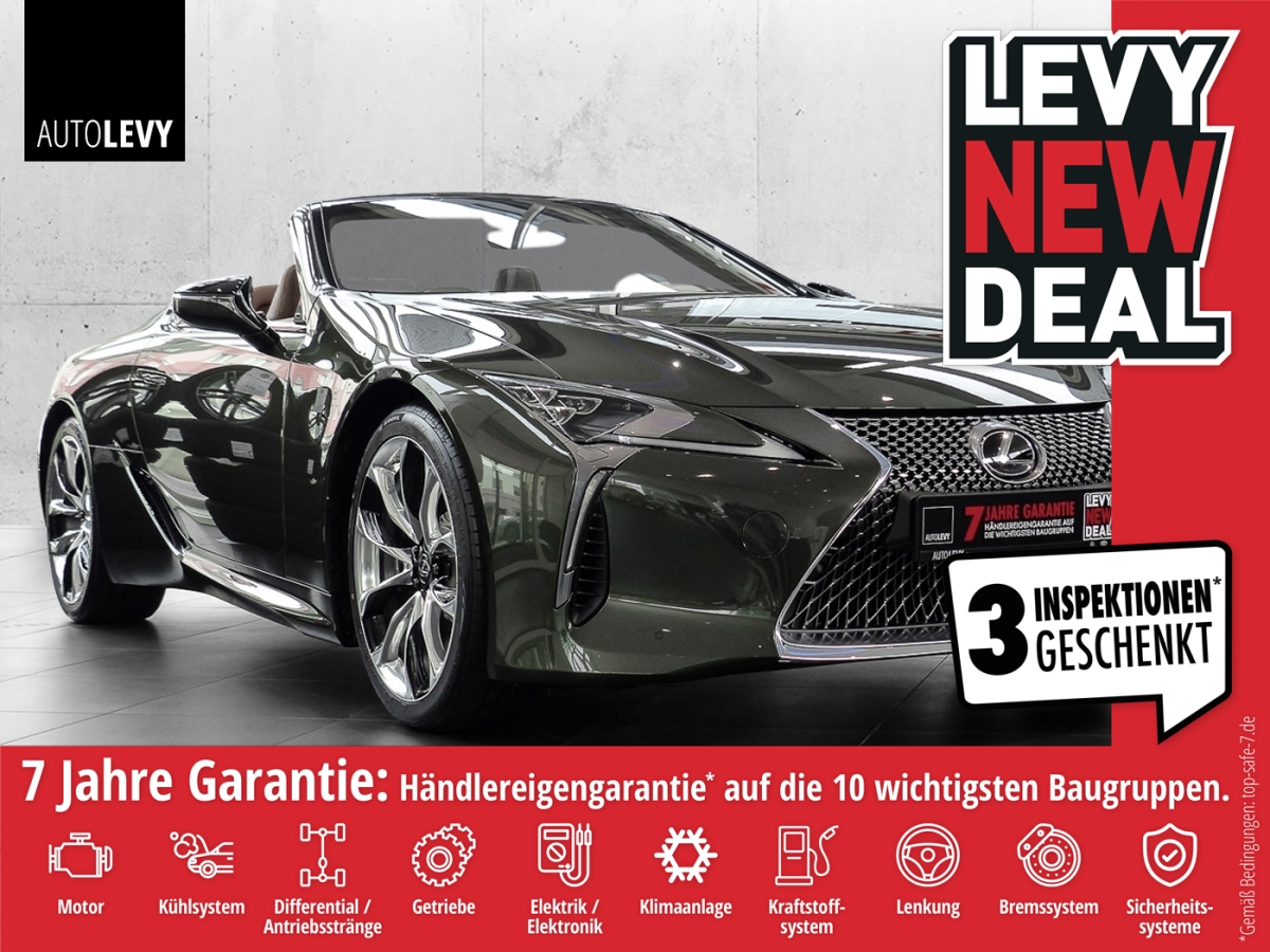 Lexus LC 500 Cabrio V8, Leder, 21 Zoll Räder, Jahr 2021, Benzin