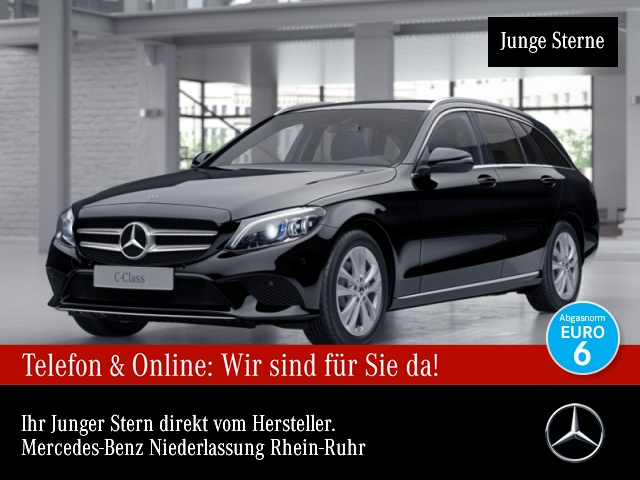 Mercedes-Benz C 220 d T Avantgarde Kamera Spurhalt-Ass SpurPak, Jahr 2018, Diesel
