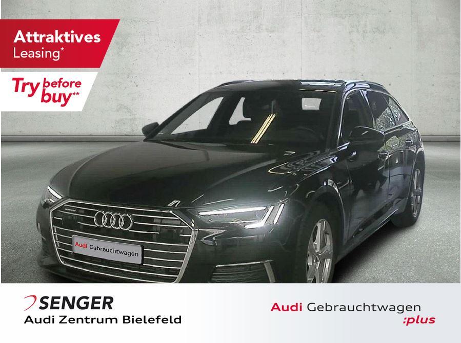 Audi A6 Avant Design 45 TDI Pano AHK Vollleder Matrix, Jahr 2019, Diesel