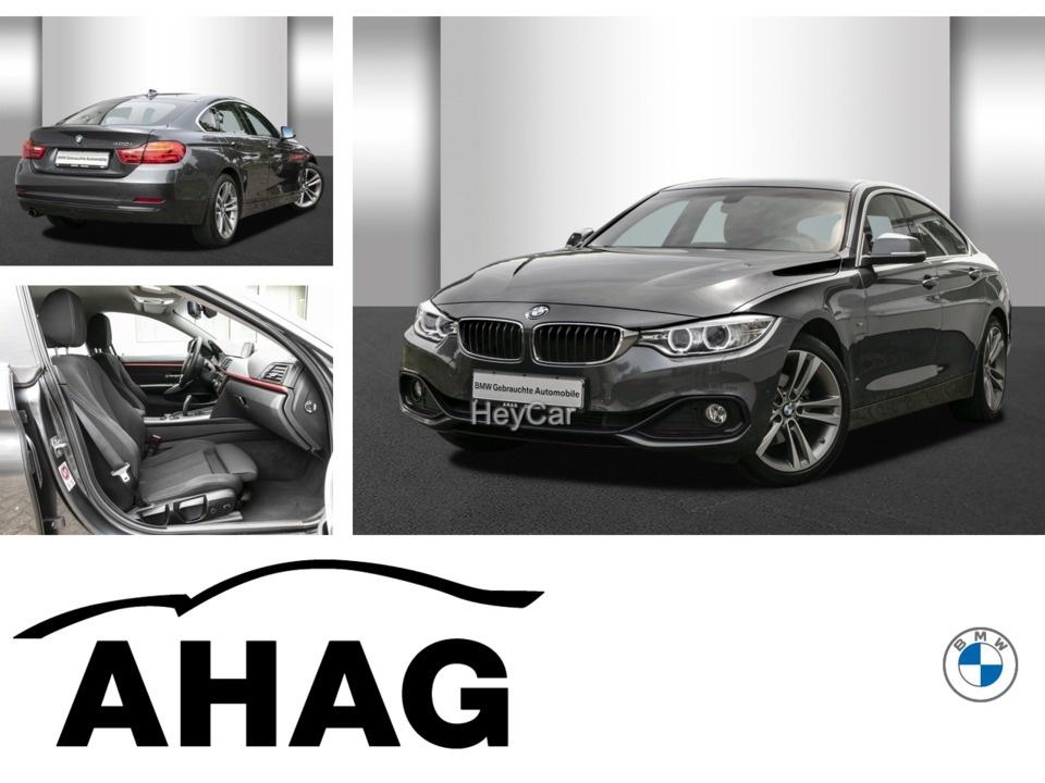 BMW 420 Gran Coupe Sport Line Aut. Navi Business, Jahr 2015, Benzin