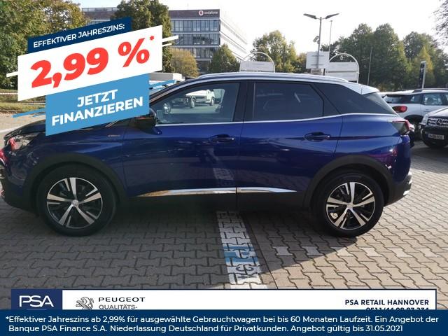 Peugeot 3008 PureTech 130 Stop & Start GPF GT-Line, Jahr 2020, Benzin