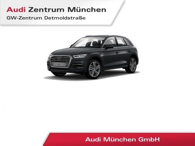 Audi Q5 2.0 TDI qu. Design S line AHK Standhz. Virtual LED ACC Leder Navi S tronic, Jahr 2017, Diesel