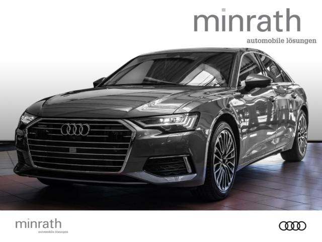Audi A6 50 TFSI e quattro design 2.0 EU6d-T Leder LED Navi Keyless AD e-Sitze HUD ACC Rückfahrkam., Jahr 2020, Hybrid