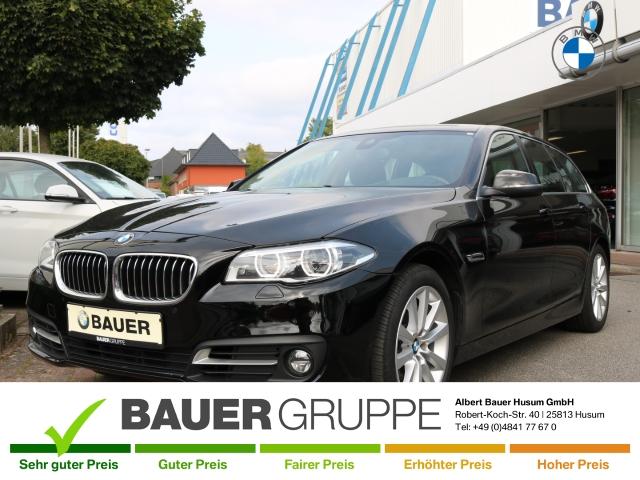 BMW 530 d Touring LED Navi Prof HUD Driving Assist Keyless Kurvenlicht Niveau Fernlichtass., Jahr 2014, Diesel