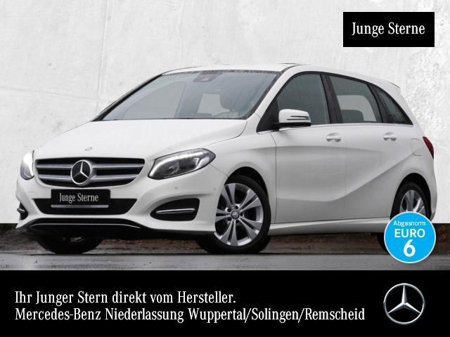 Mercedes-Benz B 160 Urban Exkl-Paket Distr. LED Navi SpurPak, Jahr 2016, petrol