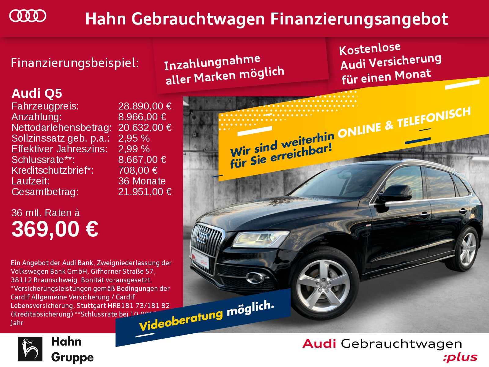 Audi Q5 2.0TFSI qua. Navi Xen ACC Sitzh Klima Einpark, Jahr 2016, Benzin