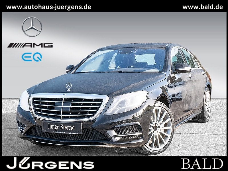Mercedes-Benz S 350 d 4M AMG-Sport/Comand/Pano/Burm/HUD/Memo, Jahr 2016, Diesel