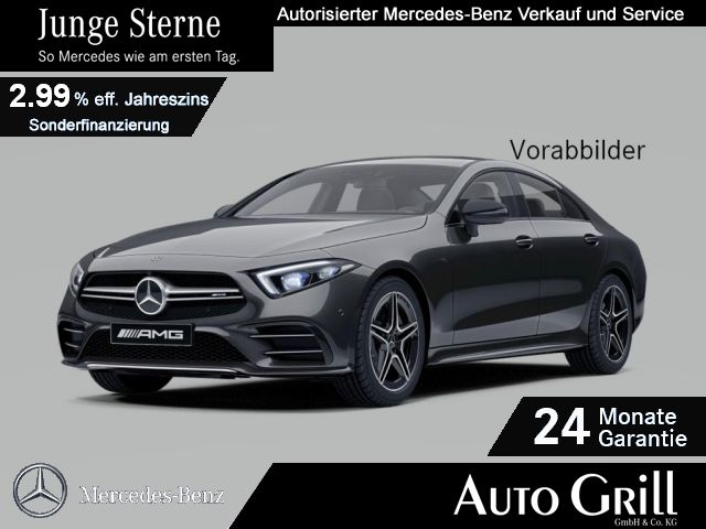 Mercedes-Benz CLS 53 AMG 4M+ Multibeam Distr Comand HUD RüKam, Jahr 2018, Benzin