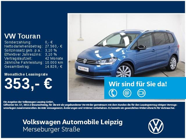 Volkswagen Touran 2.0 TDI IQ.DRIVE *ACC*7-Sitzer*Navi*SHZ*, Jahr 2020, Diesel