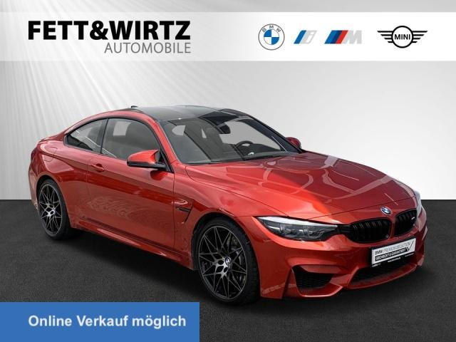 BMW M4 Compet. Coupe HUD RFK 20'' LR ab 715,- br.o.A., Jahr 2020, Benzin
