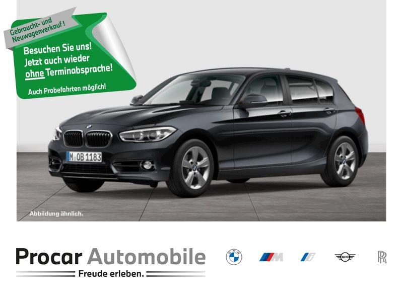 BMW 118d 5-Türer Sport Line Navi Prof DAB Adapt. LED, Jahr 2018, Diesel