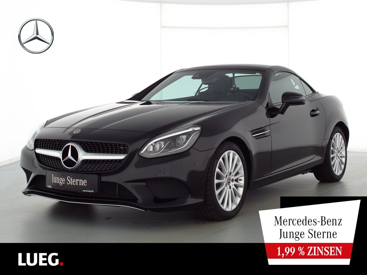Mercedes-Benz SLC 200 COM+PanoV+LED-ILS+AIRSCARF+Totw+CarP+RFK, Jahr 2020, Benzin