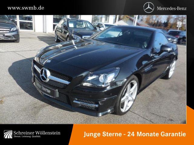 Mercedes-Benz SLK 200 AMG*Navi*Parkass*7G*SHZ*Panodach*, Jahr 2015, petrol