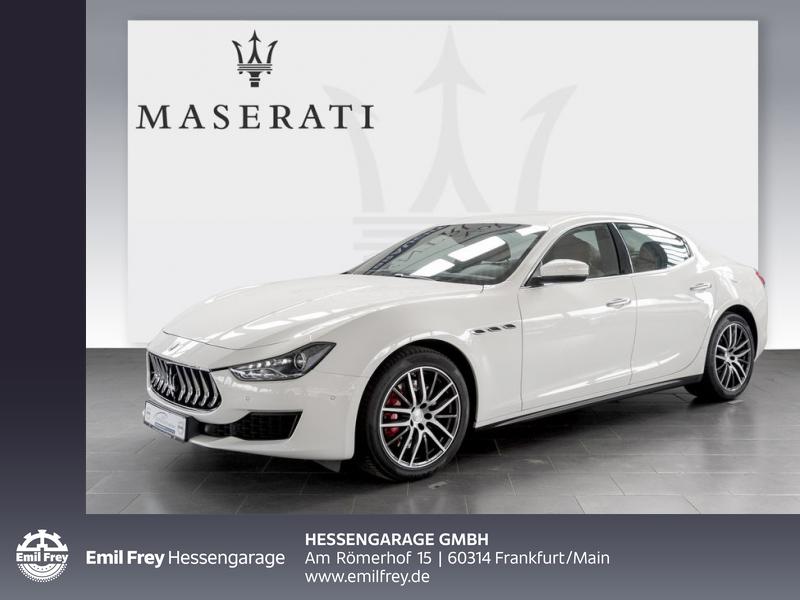 Maserati Ghibli Aut. Totwinkel DAB 19'' Kamera PDCv+h, Jahr 2018, Benzin