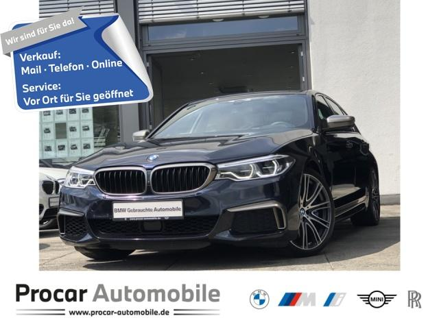 BMW M550i xDrive Navi DA+ PA+ HuD RFK H/K Adap.LED, Jahr 2017, Benzin