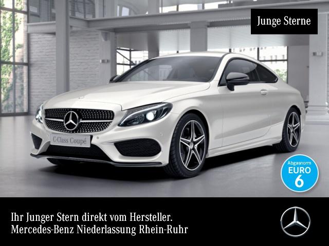 Mercedes-Benz C 180 Cp. AMG Burmester LED Night Kamera Navi PTS, Jahr 2016, Benzin
