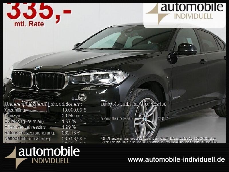 BMW X6 30dA xDr M Sportpaket ACC HuD Navi H&K, Jahr 2017, Diesel