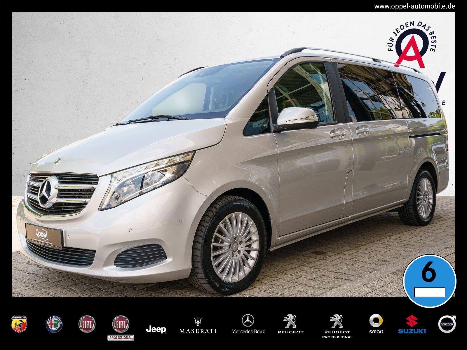 Mercedes-Benz V 220 d EDITION Lang NAVI+LED+AHK+TEMPO.+SITZHZ., Jahr 2016, Diesel