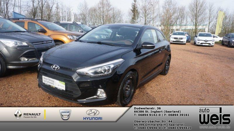 Hyundai i20 Coupe 1.4 Trend Plus-Paket, Navi, Jahr 2016, Benzin