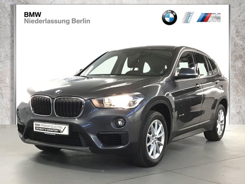 BMW X1 sDrive18i EU6 Aut. NaviPlus HiFi Head-Up, Jahr 2017, Benzin