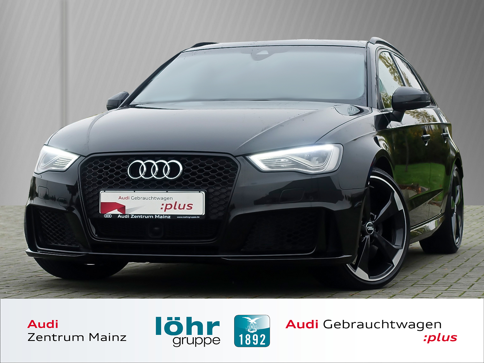Audi RS3 Sportback S tronic *B&O*MMI +*Pano*DAB*ACC, Jahr 2016, petrol