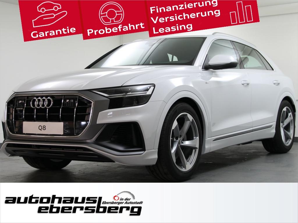 Audi Q8 50 TDI quattro S line AIR AHK LM21 StHzg Tour, Jahr 2018, Diesel